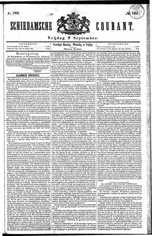 Schiedamsche Courant 1866-09-07