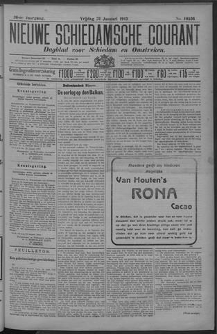 Nieuwe Schiedamsche Courant 1913-01-31