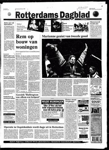 Rotterdamsch Nieuwsblad / Schiedamsche Courant / Rotterdams Dagblad / Waterweg / Algemeen Dagblad 1998-02-19
