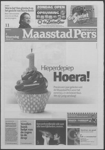 Maaspost / Maasstad / Maasstad Pers 2011-02-02