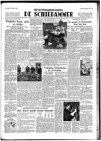 Rotterdamsch Parool / De Schiedammer 1948-10-20