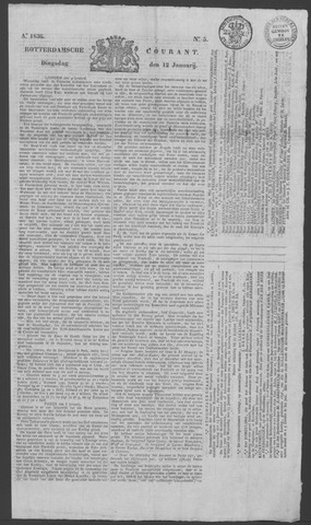 Rotterdamse Courant 1836-01-12