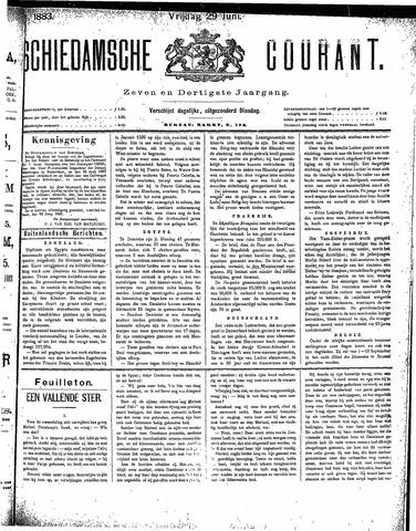 Schiedamsche Courant 1883-06-29