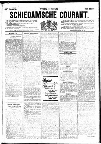 Schiedamsche Courant 1912-05-14