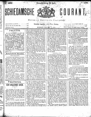 Schiedamsche Courant 1883-07-12