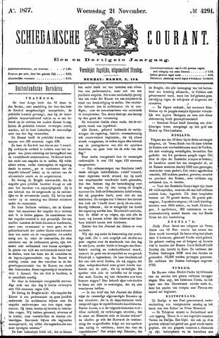 Schiedamsche Courant 1877-11-21