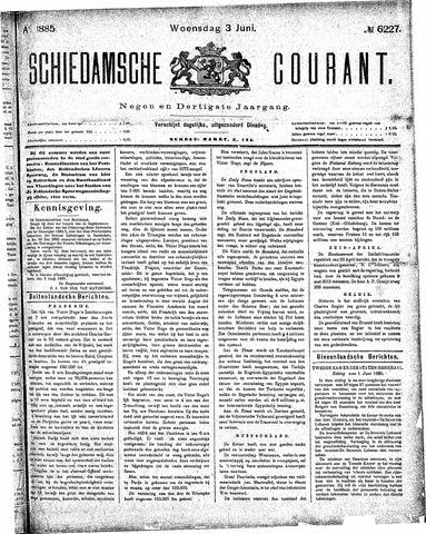 Schiedamsche Courant 1885-06-03