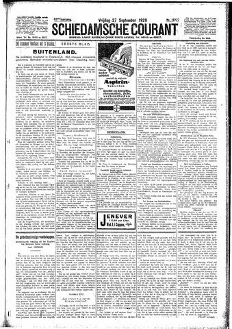 Schiedamsche Courant 1929-09-27