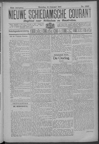 Nieuwe Schiedamsche Courant 1918-02-18