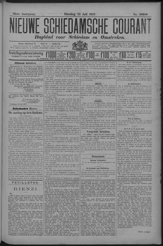 Nieuwe Schiedamsche Courant 1913-07-22