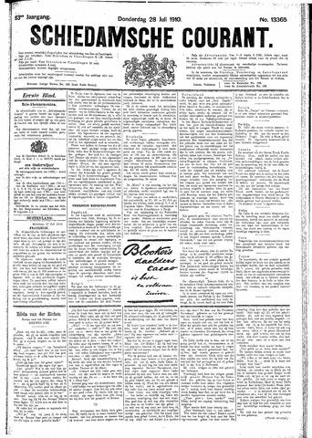 Schiedamsche Courant 1910-07-28