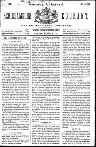 Schiedamsche Courant 1877-01-31