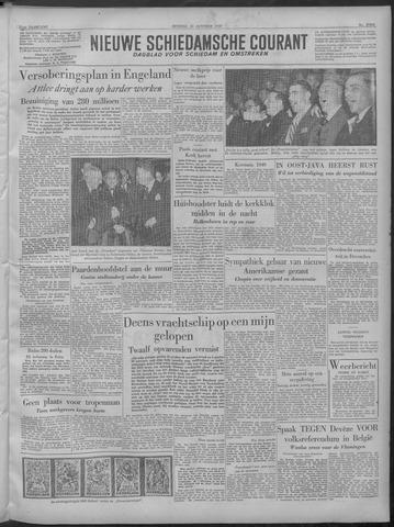 Nieuwe Schiedamsche Courant 1949-10-25