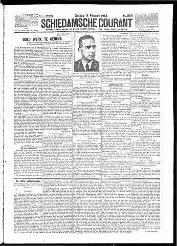 Schiedamsche Courant 1933-02-14