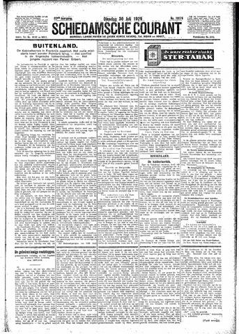 Schiedamsche Courant 1929-07-30