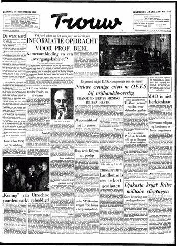 Trouw / De Rotterdammer 1958-12-16