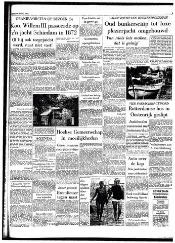Rotterdamsch Parool / De Schiedammer 1962-08-07