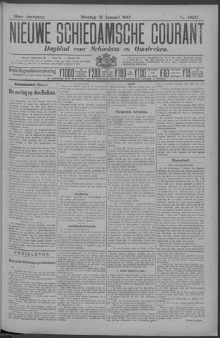 Nieuwe Schiedamsche Courant 1913-01-21