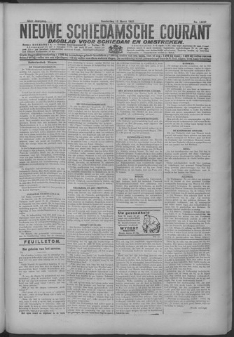 Nieuwe Schiedamsche Courant 1925-03-12