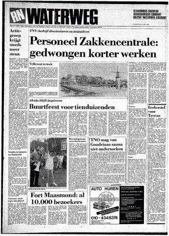 Rotterdamsch Nieuwsblad / Schiedamsche Courant / Rotterdams Dagblad / Waterweg / Algemeen Dagblad 1987-05-06