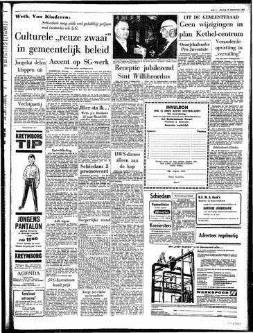 Rotterdamsch Parool / De Schiedammer 1964-09-29