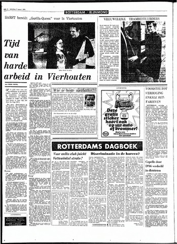 Rotterdamsch Parool / De Schiedammer 1970-03-07
