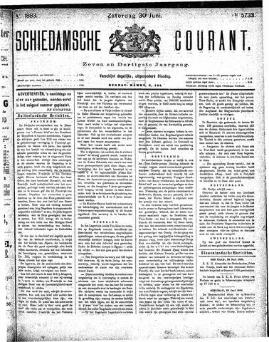 Schiedamsche Courant 1883-06-30