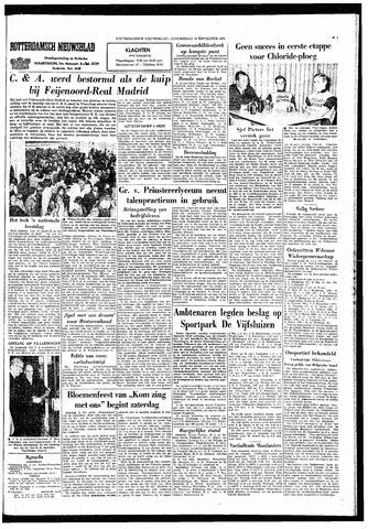 Rotterdamsch Nieuwsblad / Schiedamsche Courant / Rotterdams Dagblad / Waterweg / Algemeen Dagblad 1965-09-16