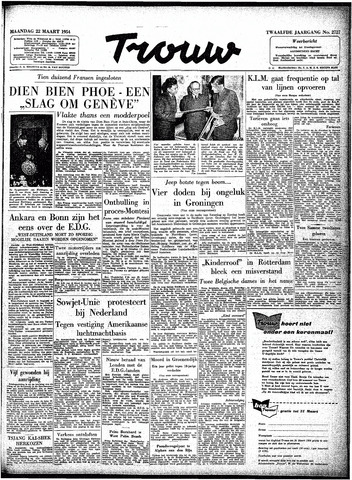 Trouw / De Rotterdammer 1954-03-22