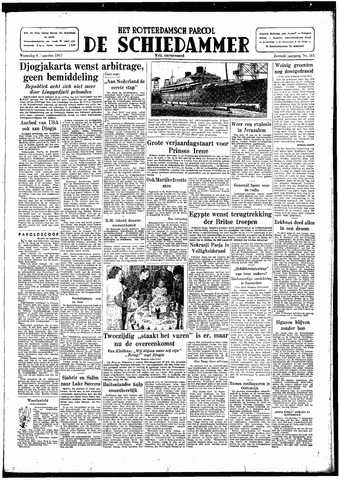 Rotterdamsch Parool / De Schiedammer 1947-08-06