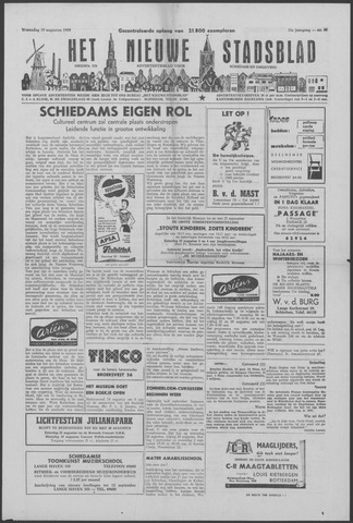 Het Nieuwe Stadsblad 1959-08-19