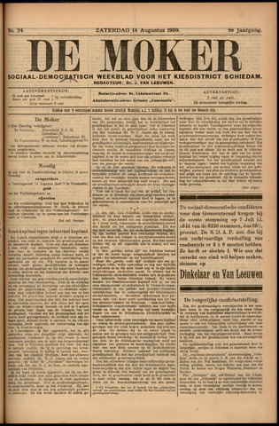 De Moker 1909-08-14