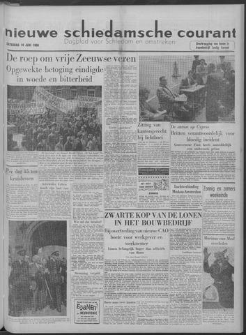 Nieuwe Schiedamsche Courant 1958-06-14