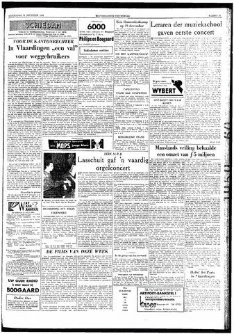 Rotterdamsch Nieuwsblad / Schiedamsche Courant / Rotterdams Dagblad / Waterweg / Algemeen Dagblad 1959-12-10
