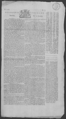 Rotterdamse Courant 1826-01-14