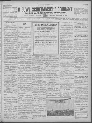 Nieuwe Schiedamsche Courant 1932-12-27