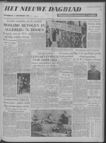 Nieuwe Schiedamsche Courant 1961-11-02