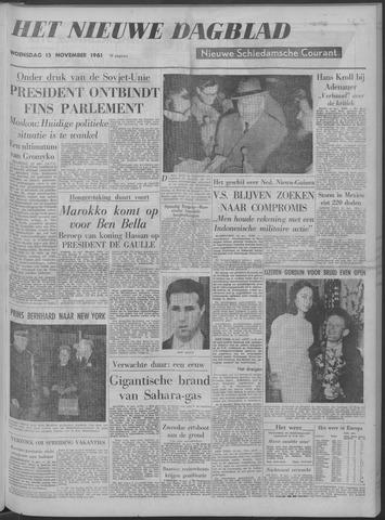 Nieuwe Schiedamsche Courant 1961-11-15