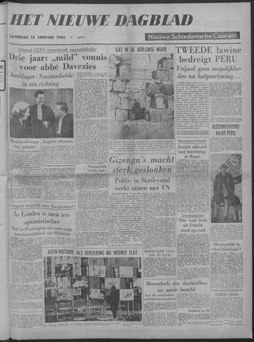 Nieuwe Schiedamsche Courant 1962-01-13
