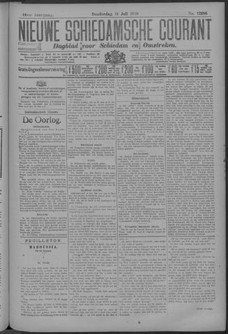Nieuwe Schiedamsche Courant 1918-07-11