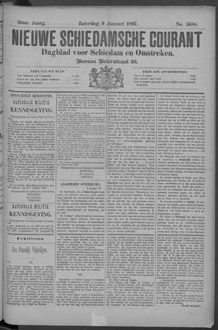 Nieuwe Schiedamsche Courant 1897-01-09