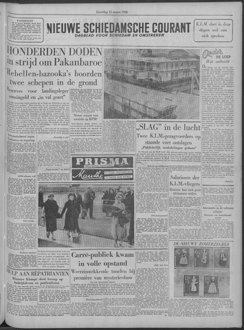 Nieuwe Schiedamsche Courant 1958-03-15