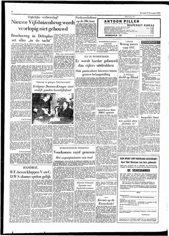 Rotterdamsch Parool / De Schiedammer 1955-11-29