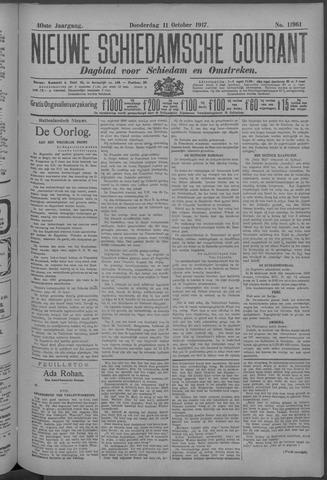 Nieuwe Schiedamsche Courant 1917-10-11