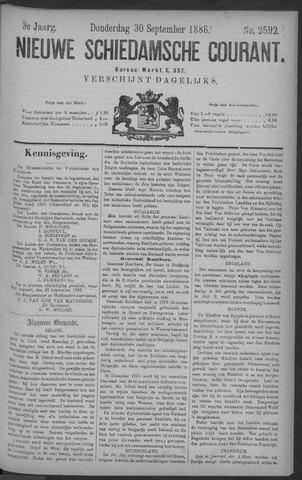 Nieuwe Schiedamsche Courant 1886-09-30