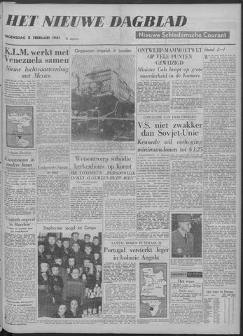 Nieuwe Schiedamsche Courant 1961-02-08