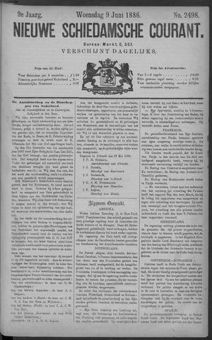 Nieuwe Schiedamsche Courant 1886-06-09