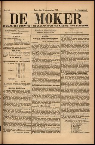 De Moker 1910-08-13