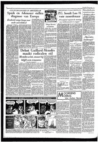 Rotterdamsch Parool / De Schiedammer 1957-11-25