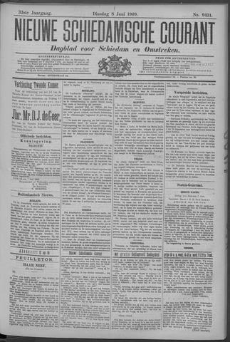Nieuwe Schiedamsche Courant 1909-06-08